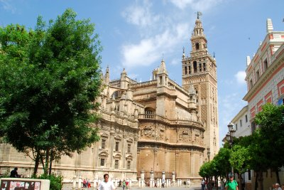 Seville Cathedral and the Giralda