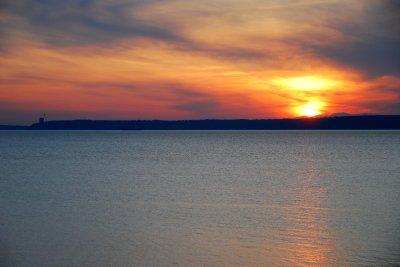 Sunset at Cannakale