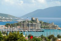 Bodrum Castle from theatre