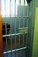 Nelson Mandela's cell on Robben Island where he spent 17 years.
