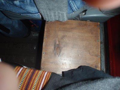 Min plass i minibussen
