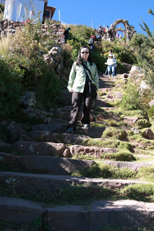 Long, Steep Stairs