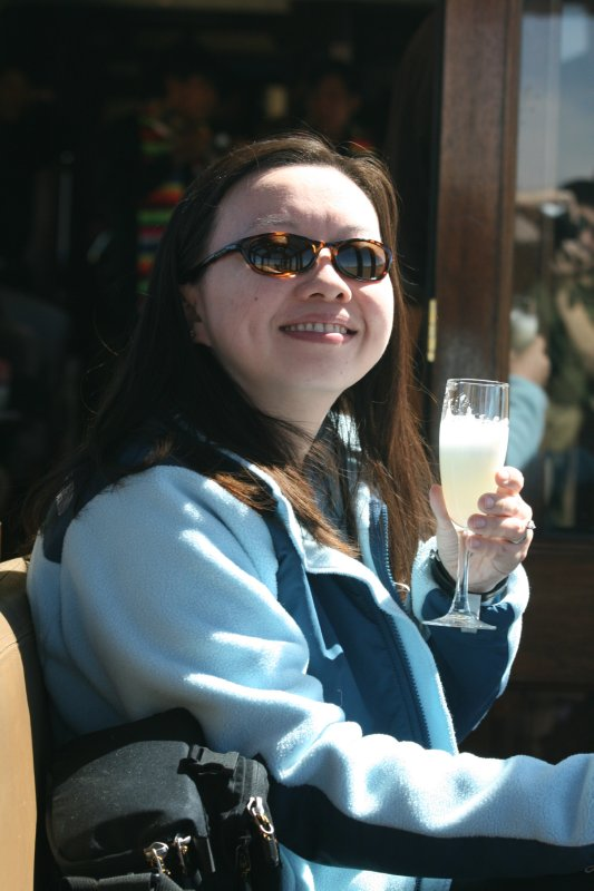 Sherri With A Pisco Sour