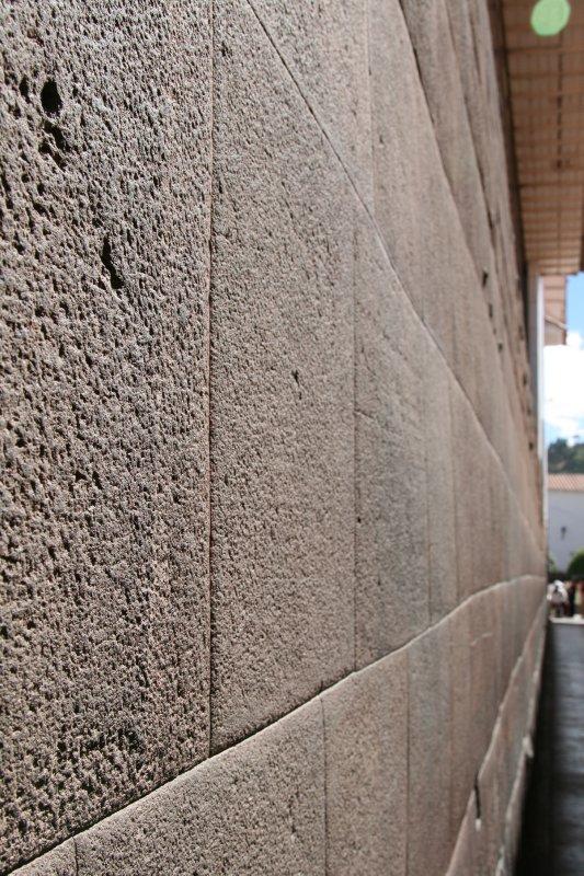 Outside Wall of the Qorikancha