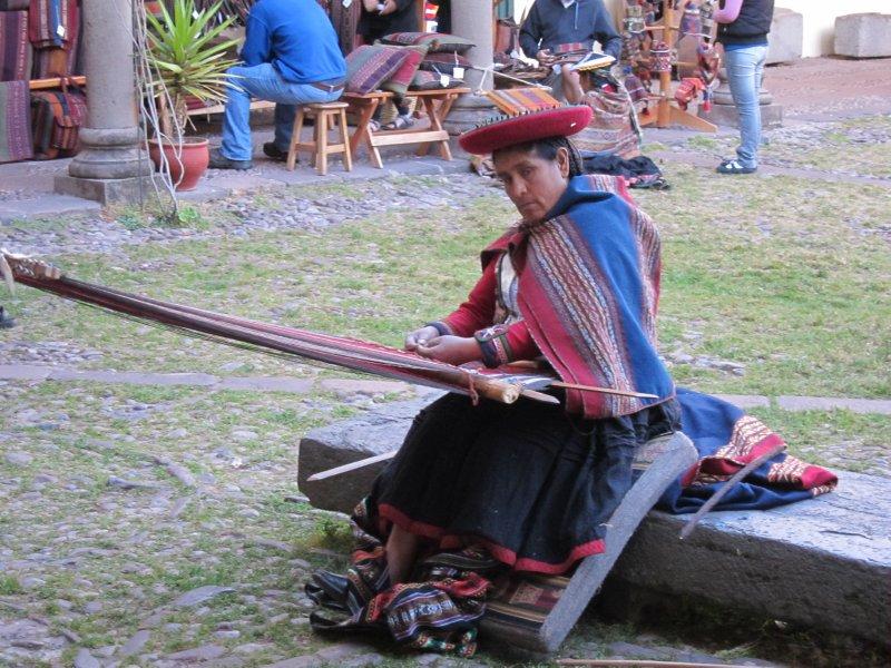 Sacred Valley Artisan Weaving