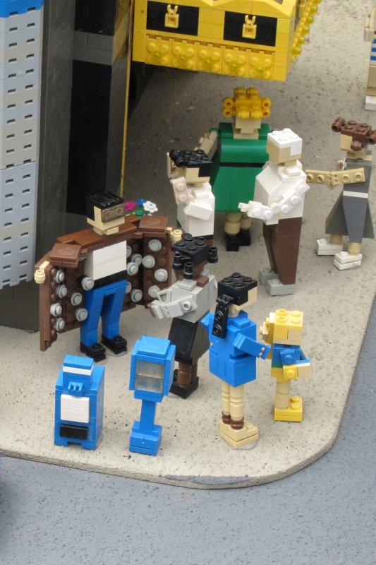 Lego NY street corner