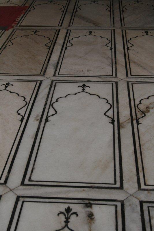 Tiles Inside the Jama Masjid