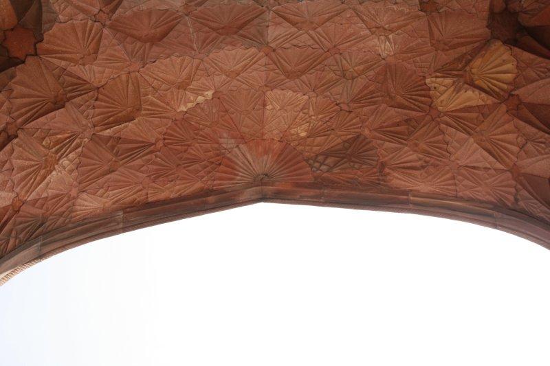 Inner Canopy of the Jama Masjid