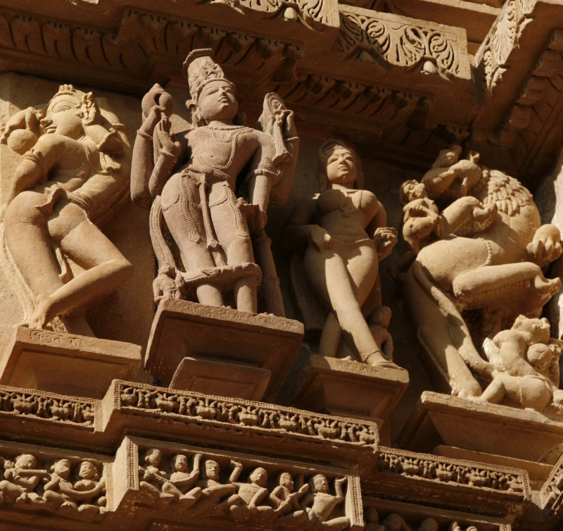 Statue at Khajuraho