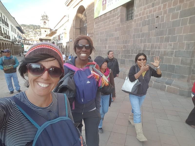 Walking around Centro de Cusco