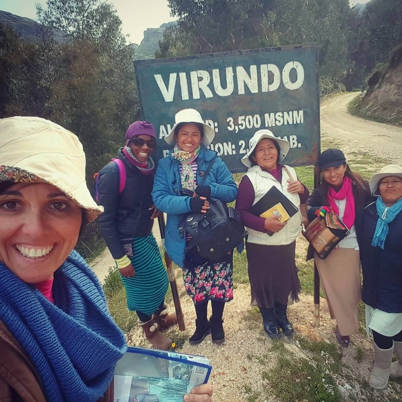 "Our first day ""peru""sing the town, ready to preach"