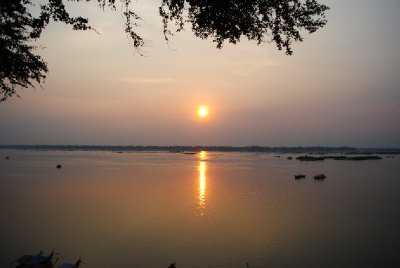 Sunset over Kratie