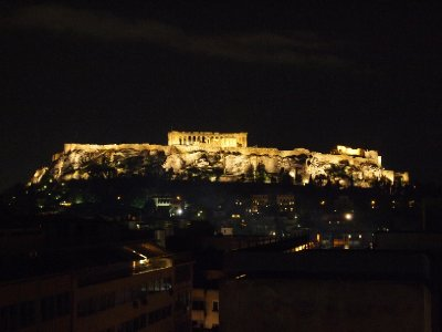 Acropolis by night!