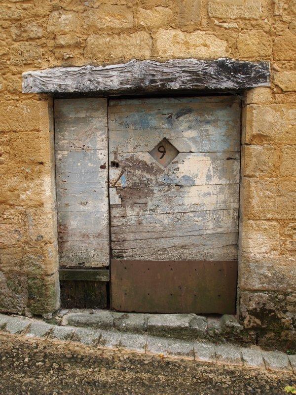 Front door of No. 9 ..........