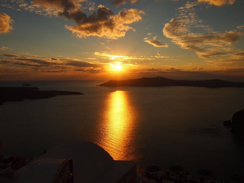 Santorini Sunset - Day Two.