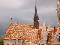 The colours of Matthias Church - Budapest.