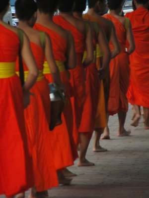 Monks, Luang Prabang, Laos