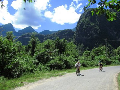 Biking in Nong Kiow