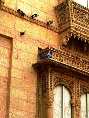 A Haveli in Jaisalmer