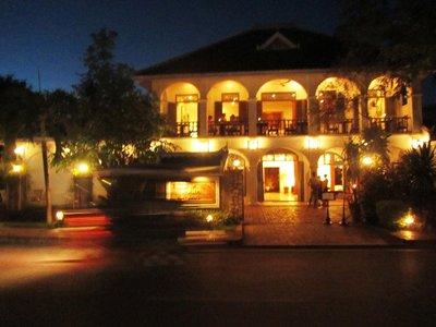 Luang Prabang at night