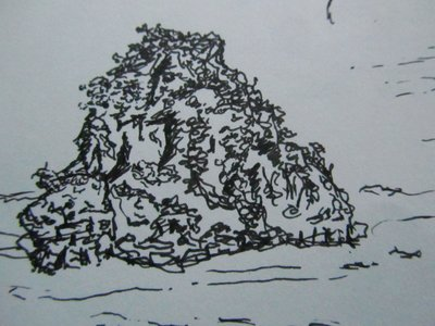 Halong Bay sketch 1
