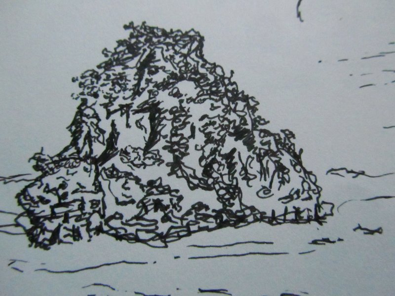 Halong Bay sketch 1