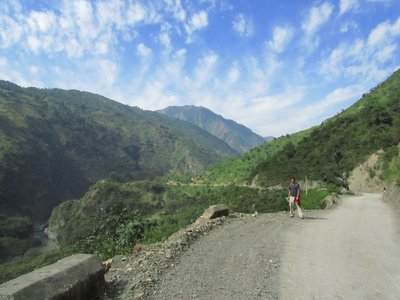 Hiking around Shimla