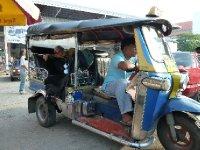 Our first Tuk Tuk ride!