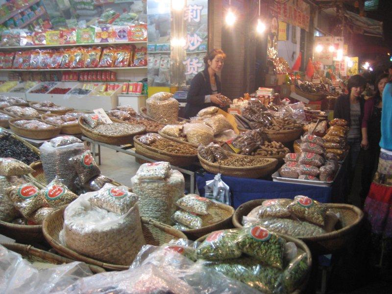 In the muslim quarter's food street