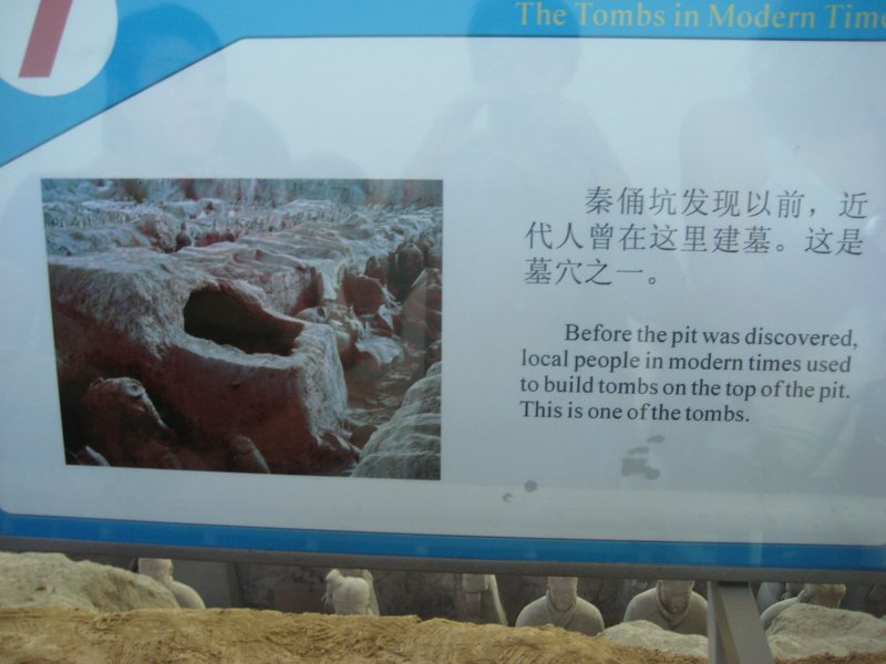 How on earth did they not notice the thousands of terracotta warriors?!?