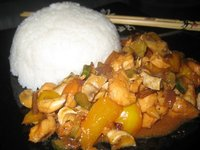 Supposed to be Kung Pow chicken