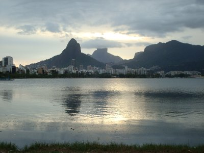 Lake behind Ipanema