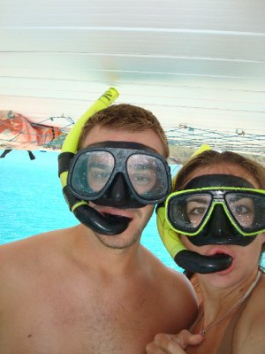 Snorkels...always good to wear them above water