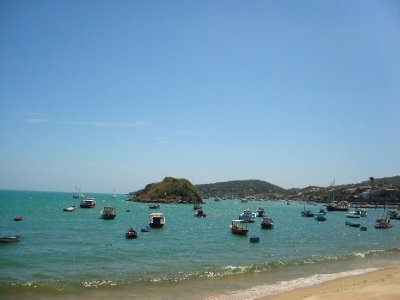 Buzios fishing boats