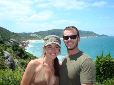 Our victory hike over Praia Mole