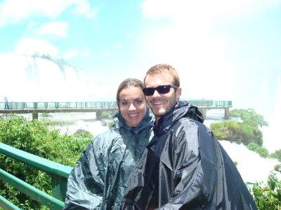 Pre-shower in falls