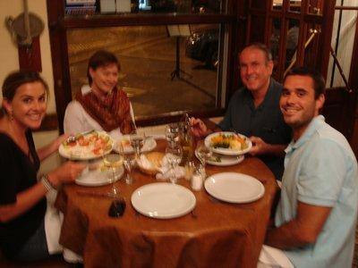 Thanksgiving dinner. Steak at Don Julio's
