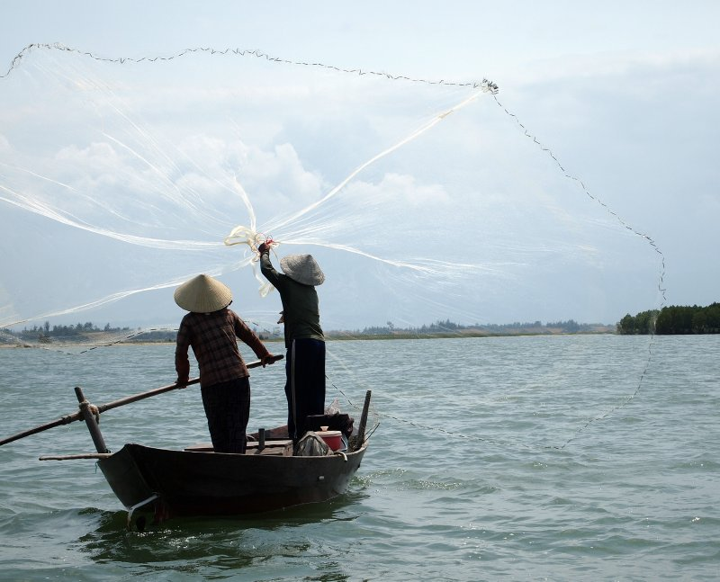 Fishing in Hoi An 5