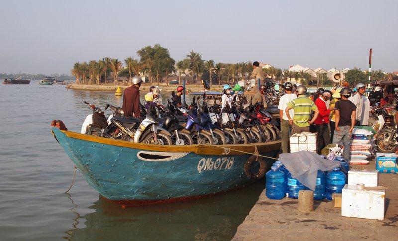 River taxi, Hoi An