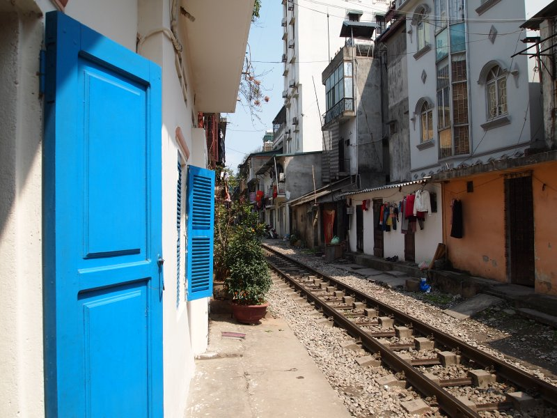Railway line up to Sapa