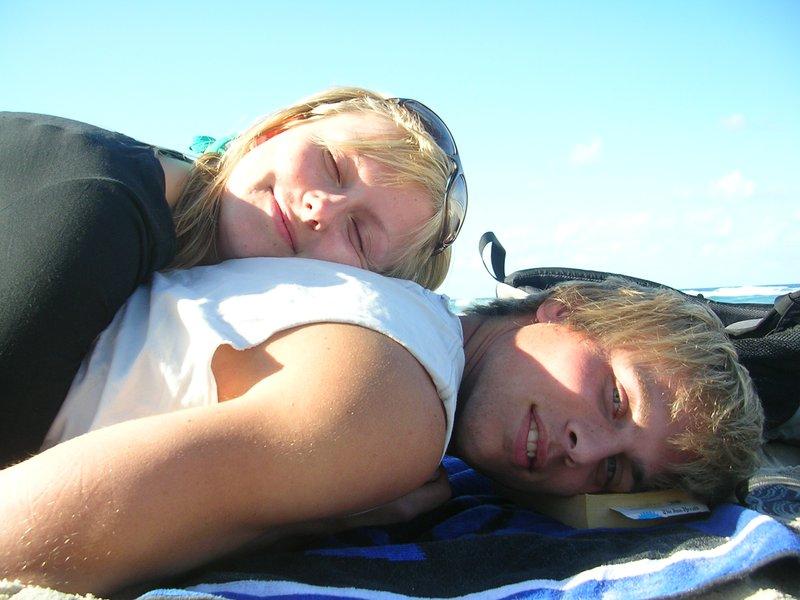 Pim en Malka in Australia (2005)