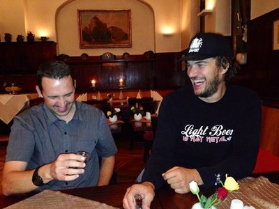 Schnapps Shots with the German Giant!