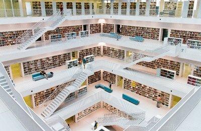 Library in Stuttgart