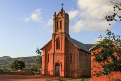 Sun Soaked Church
