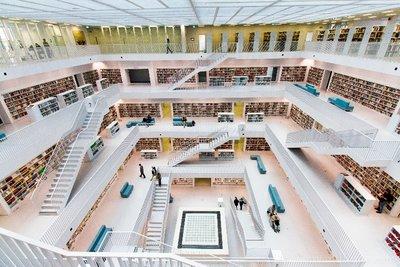 The Library in Stuttgart