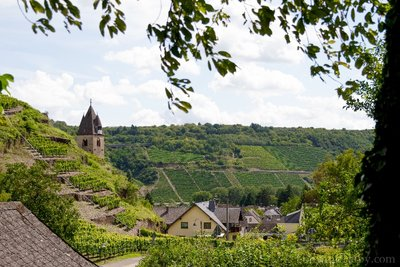 Adorable Wine Town of Kobern-Gondorf on the Mosel
