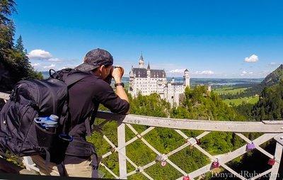 Tony Shooting Neuschwanstein Castle