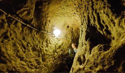 Underground Cave City in Turkey
