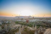 Hot Air Balloons Over Love Valley