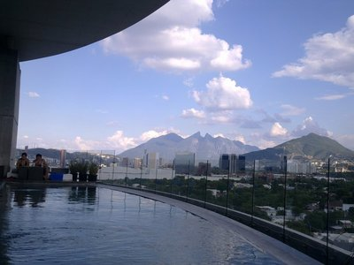 One of the best Rooftop Pool Bars in the World - at Habita Hotel